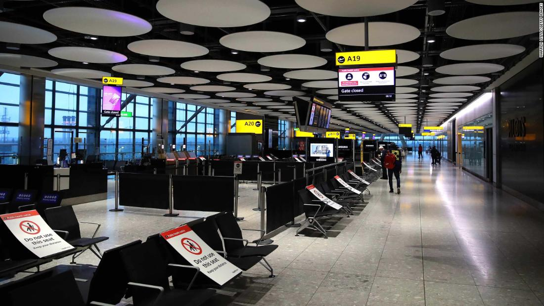 """Experts say the Centers for Disease Control and Prevention (CDC) testing requirements for travelers in the UK are like a """"chain fencing to prevent mosquitoes"""""""
