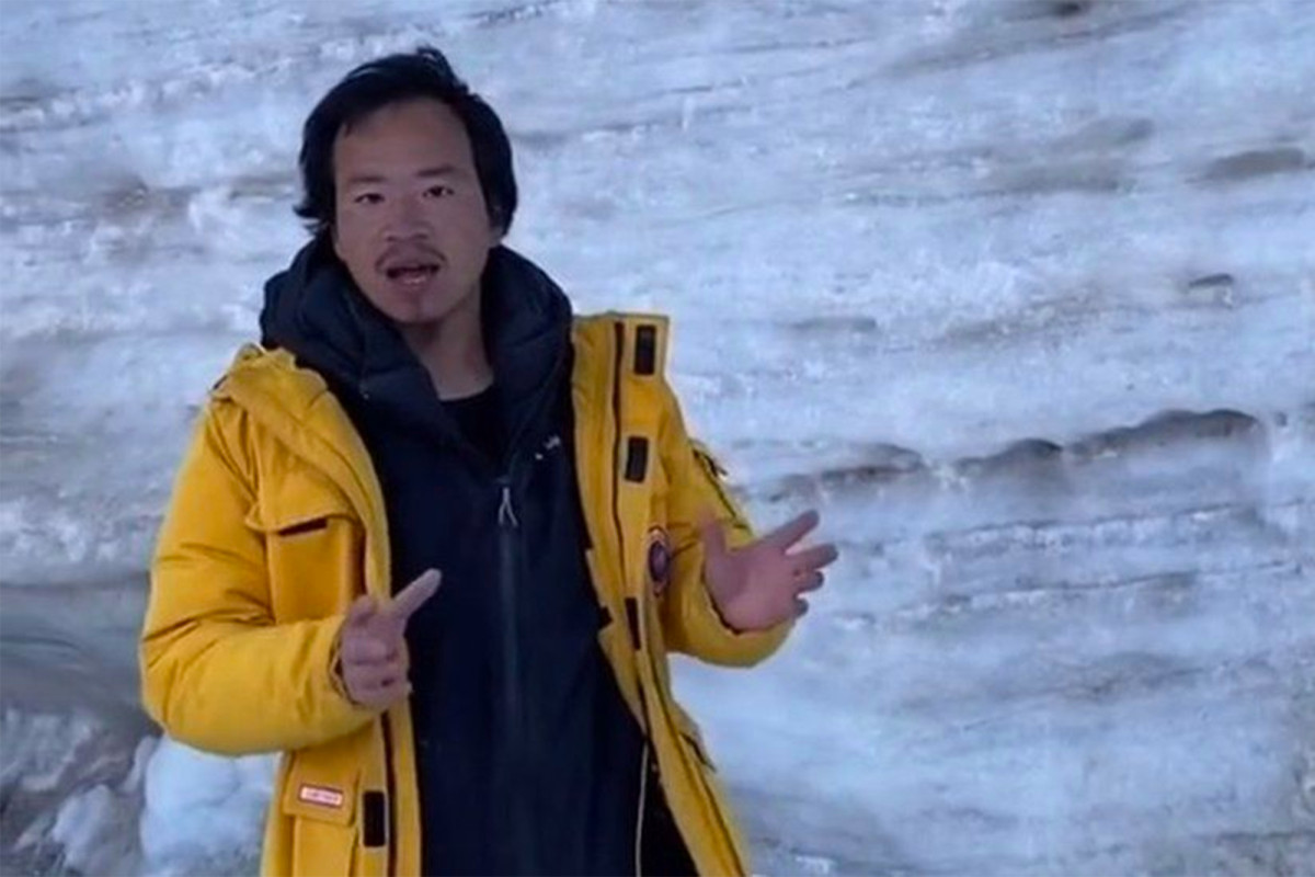 """Glacier Bro"" is thought to have died after falling into icy waters"